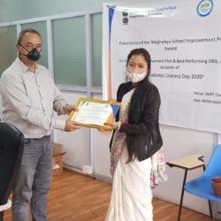 Best SIP Award - LGB Sec School, Tura