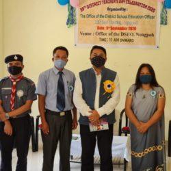 Distruct teachers Day Award Ri Bhoi