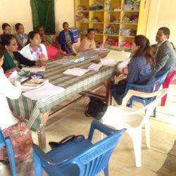School visit to Dkhiah Presbyterian Secondary School East Jaintia Hill