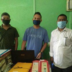 School visit to Gabil Daningka Sec School
