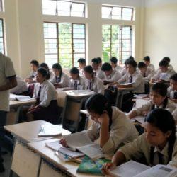 Visit to wadanang school, WGHD