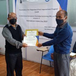 best SIP Award - Mynken Christian HS School